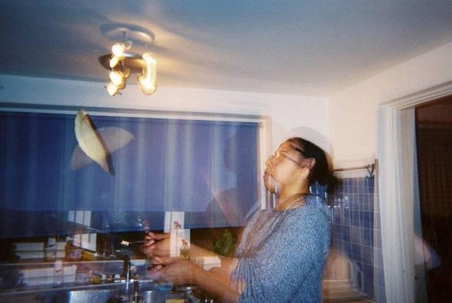 Flash double exposure