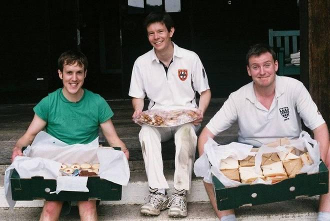 When four men ate the cricket tea of 24