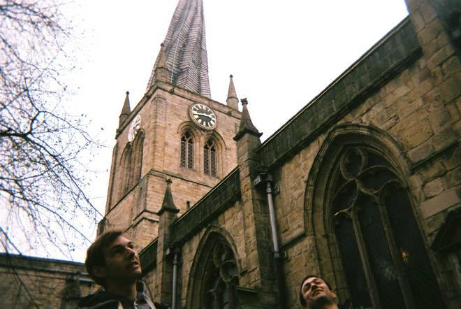Pre-walk from Chesterfield: bendy spire