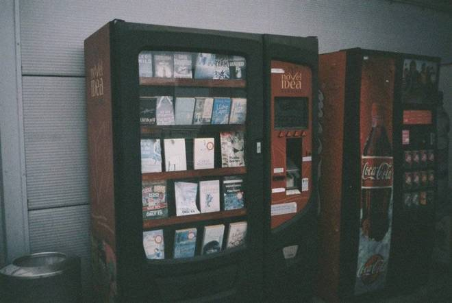 Book-vending machine