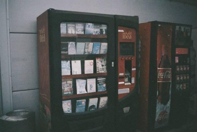 Book-vending machine