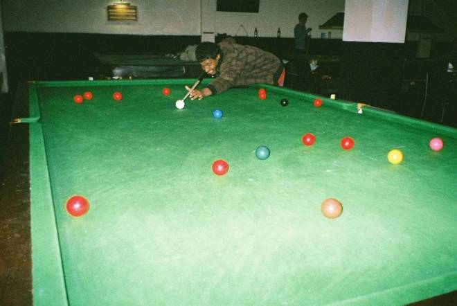 Colourblind snooker with Kris