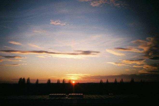 Lab sunset