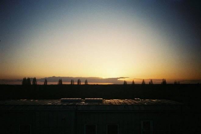 Engineering sunset
