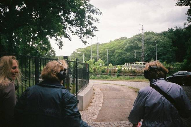 German home-made walking tour Fraus