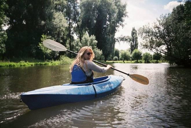 Single kayaks