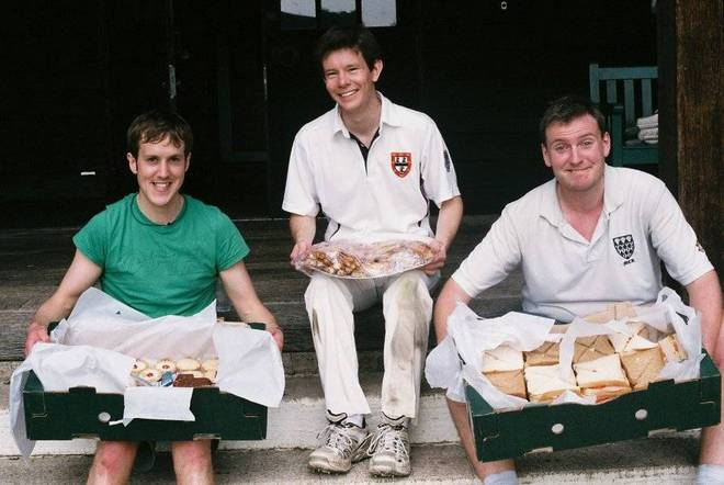 When four men ate the cricket tea of 24