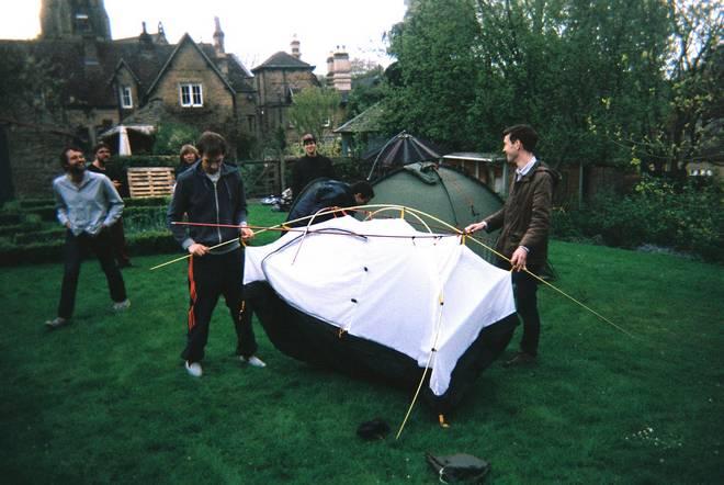 Tent fun