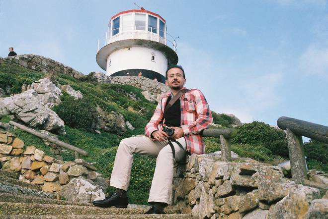 Payman at Cape Point