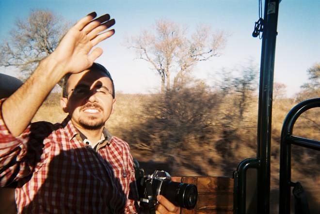 Payman on safari