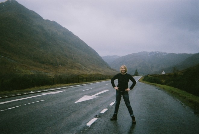 Driving to Skye